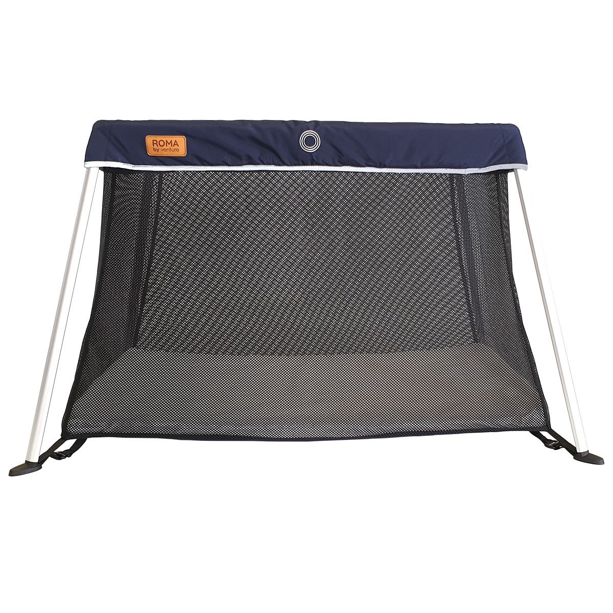 The Roma is a lightweight and compacy travel cot designed for life on the go.