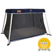 Venture Roma Travel Cot - Blue