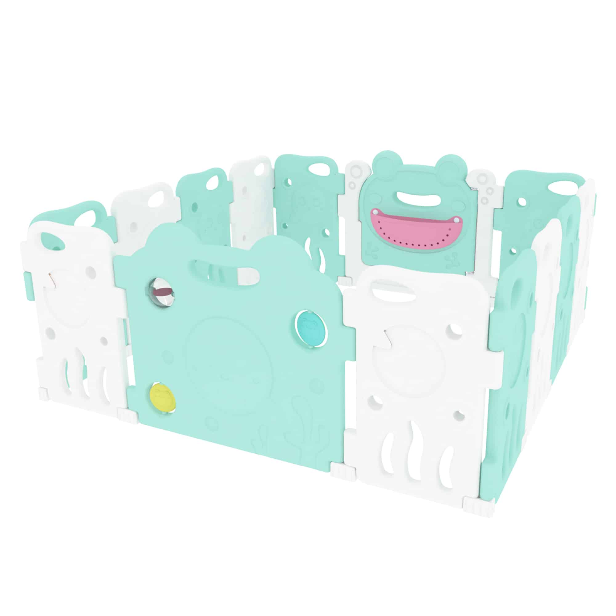 Pond theme playpen perfect for babies and toddlers