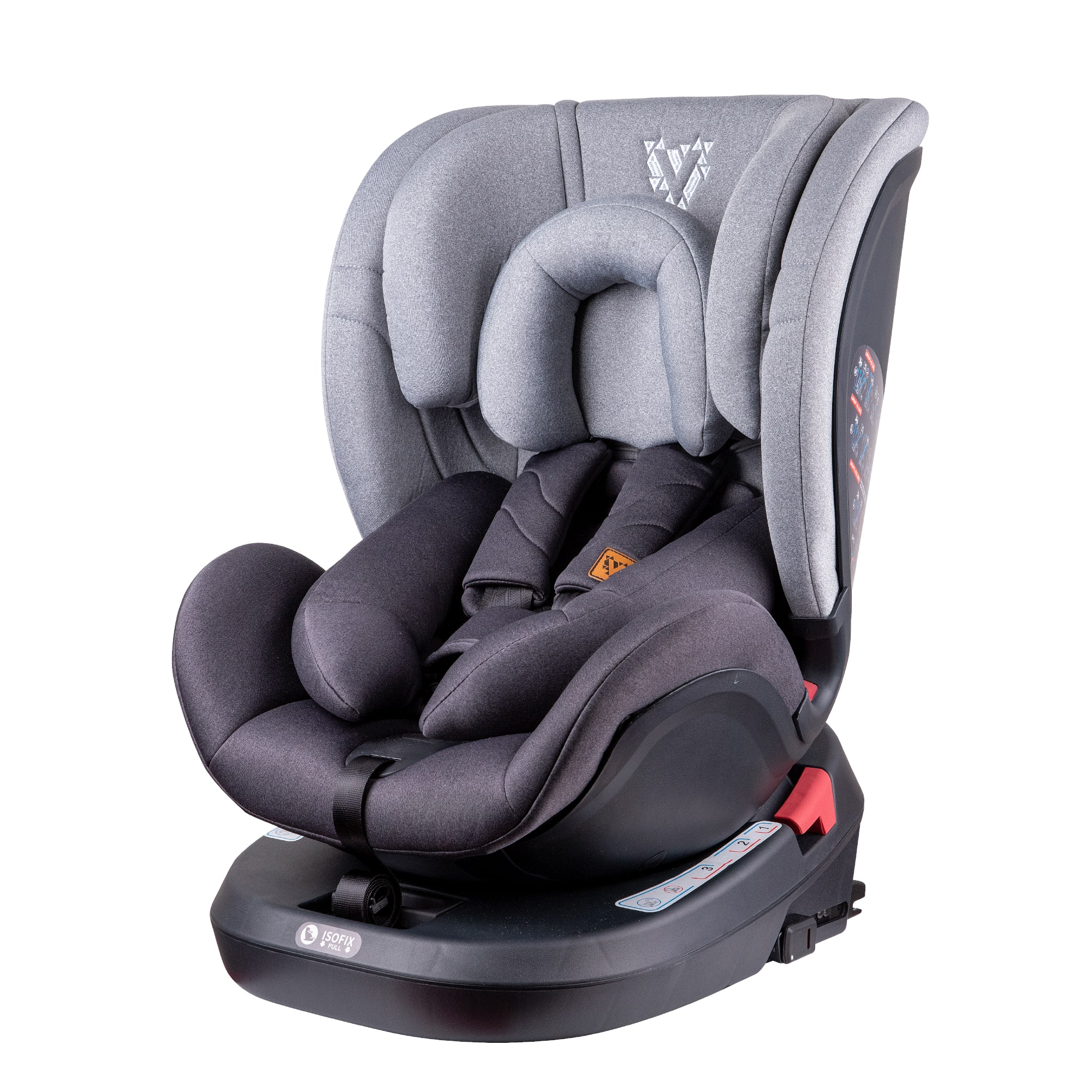 The Venture Fustion 360 Car Seat in Grey