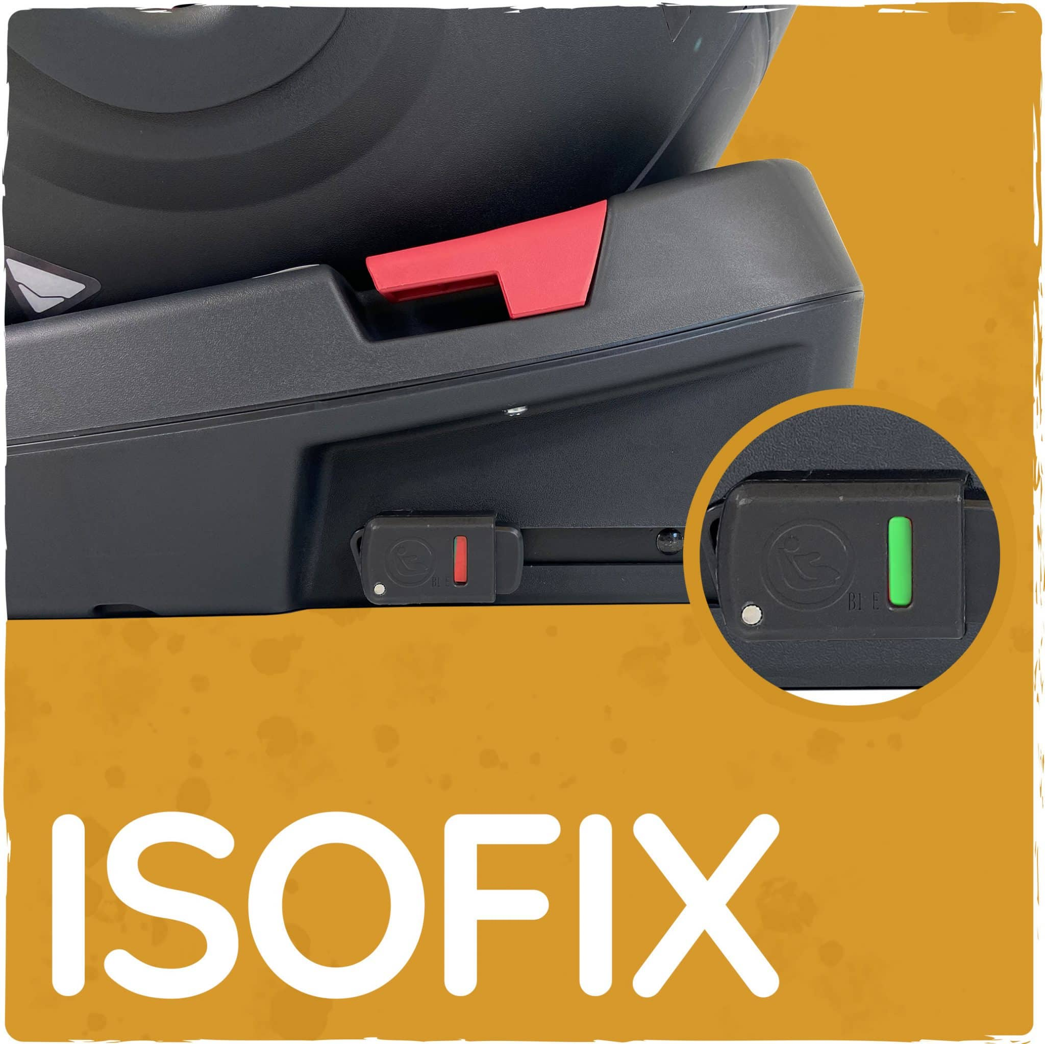 Simple and clear ISOFIX fitting