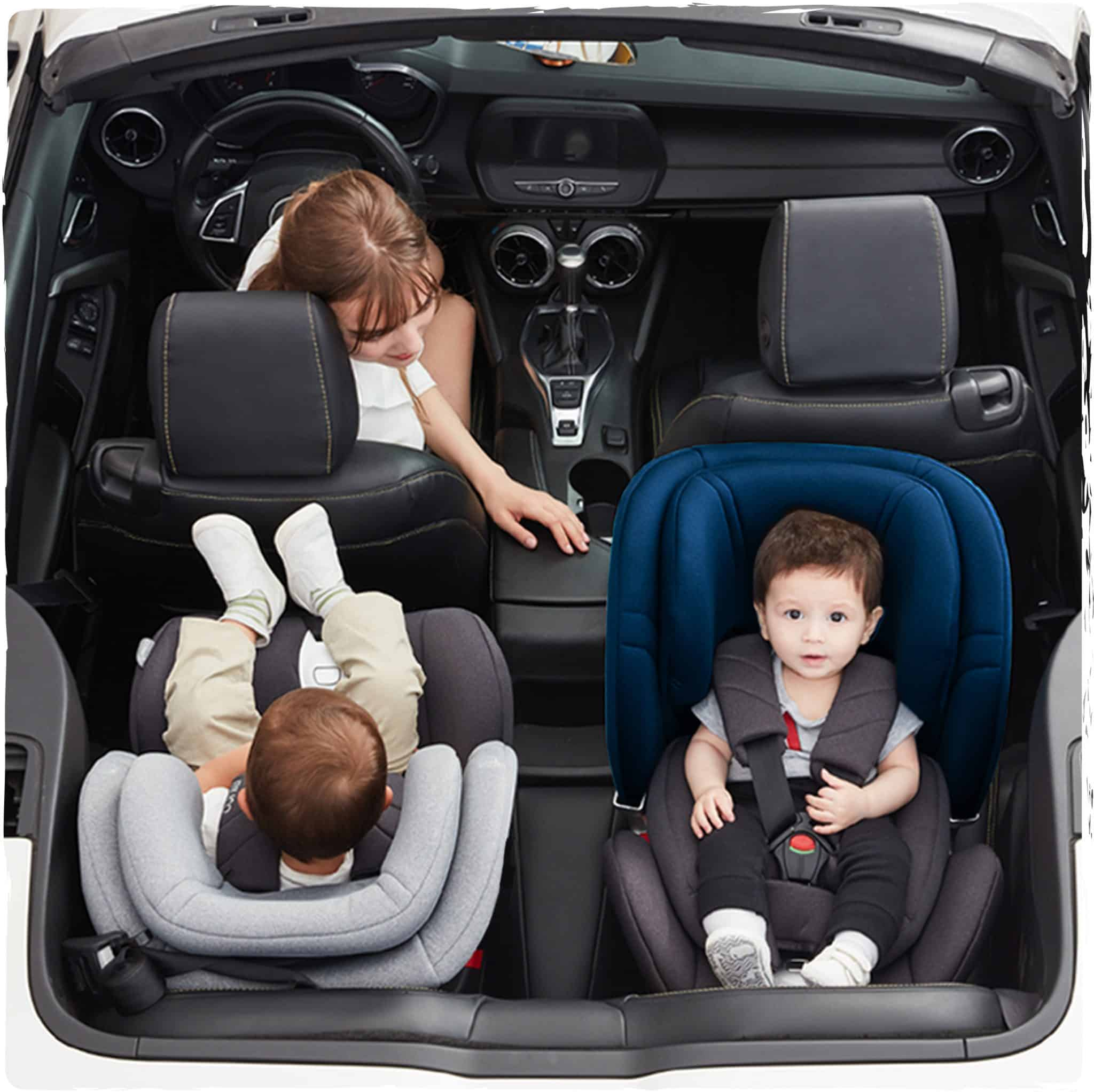 Group 0+/1/2/3 360 car seat