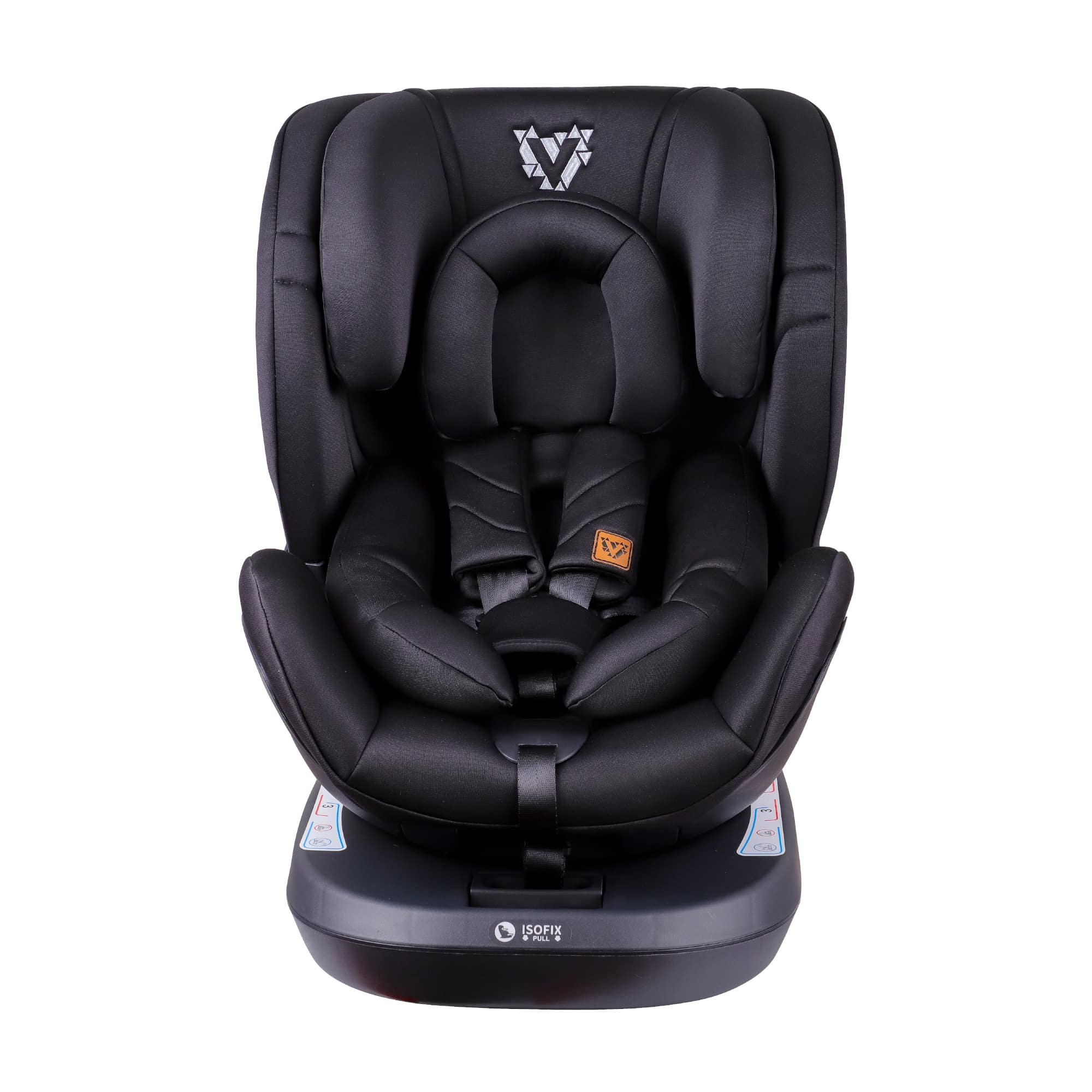 Venture Fusion 360 Car Seat In Black