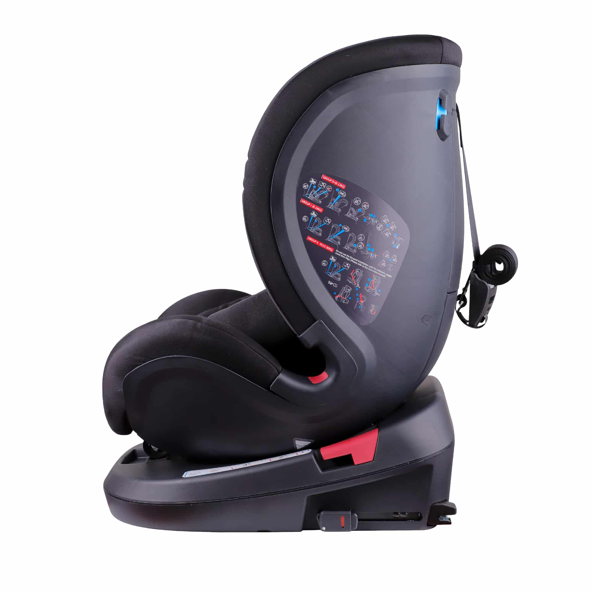 Fusion 360 Car Seat In Black