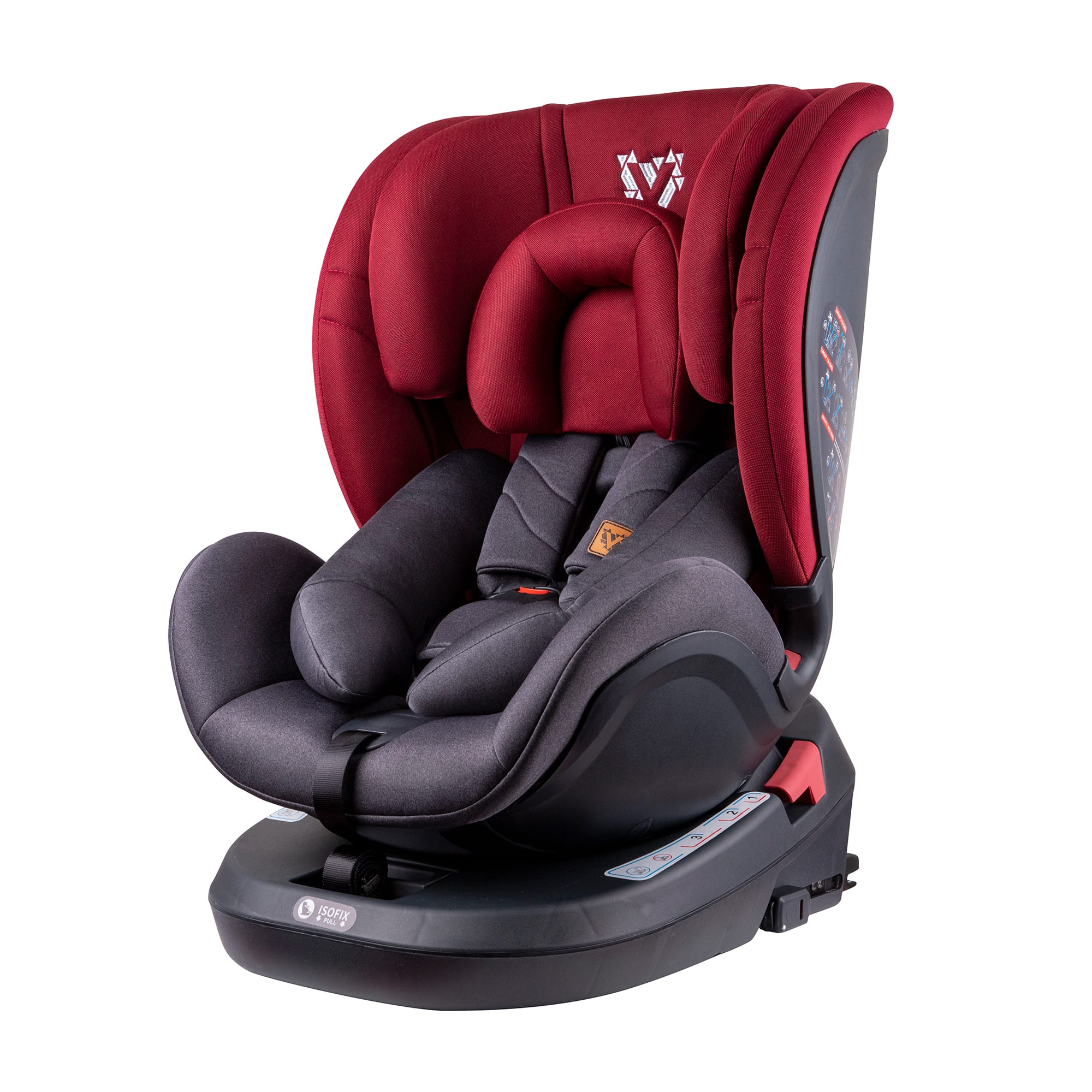 Venture Fusion Car Seat in Red