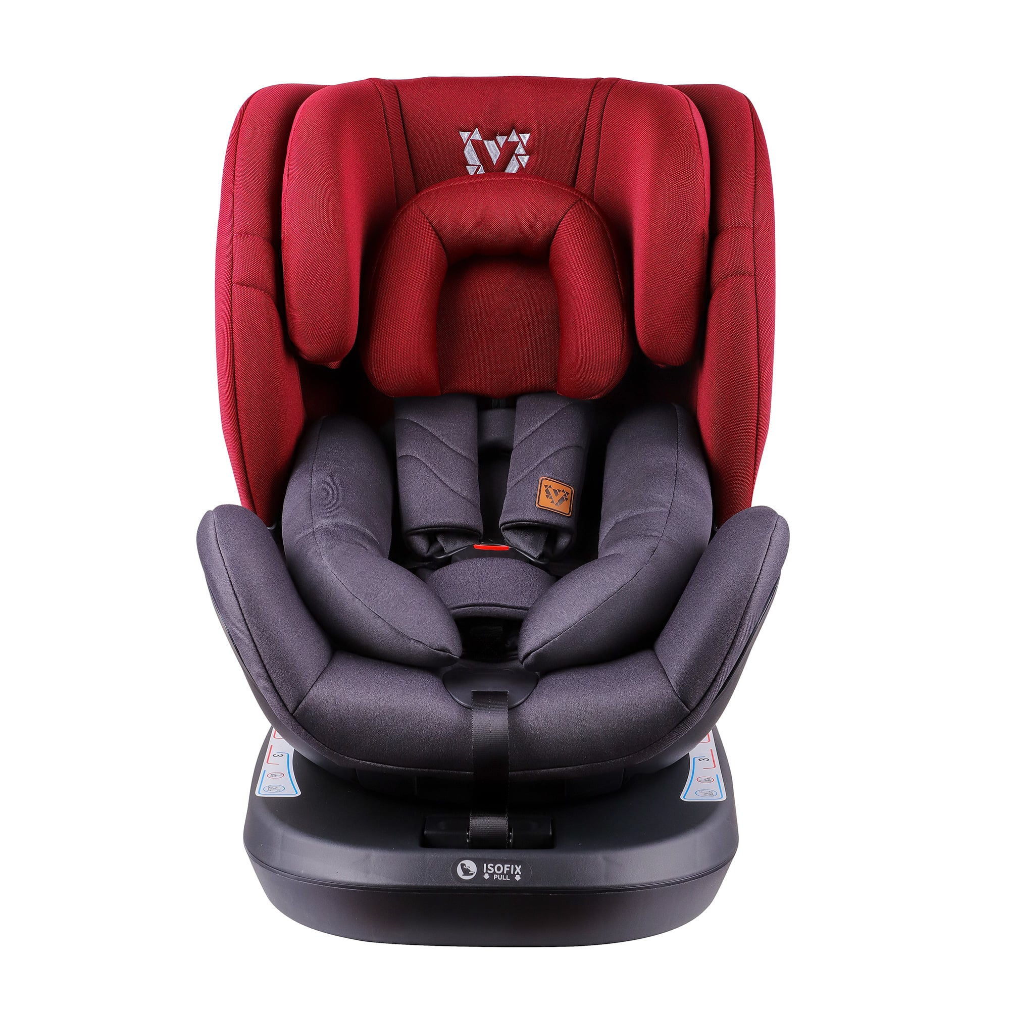 Venture Fusion 360 Child Car Seat In Red