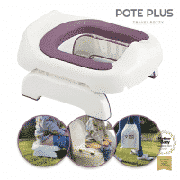 Pote Plus Travel Potty - Pink