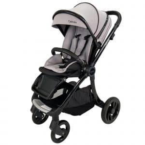 Venture Nebula baby Stroller In Cool Grey with Black chassis