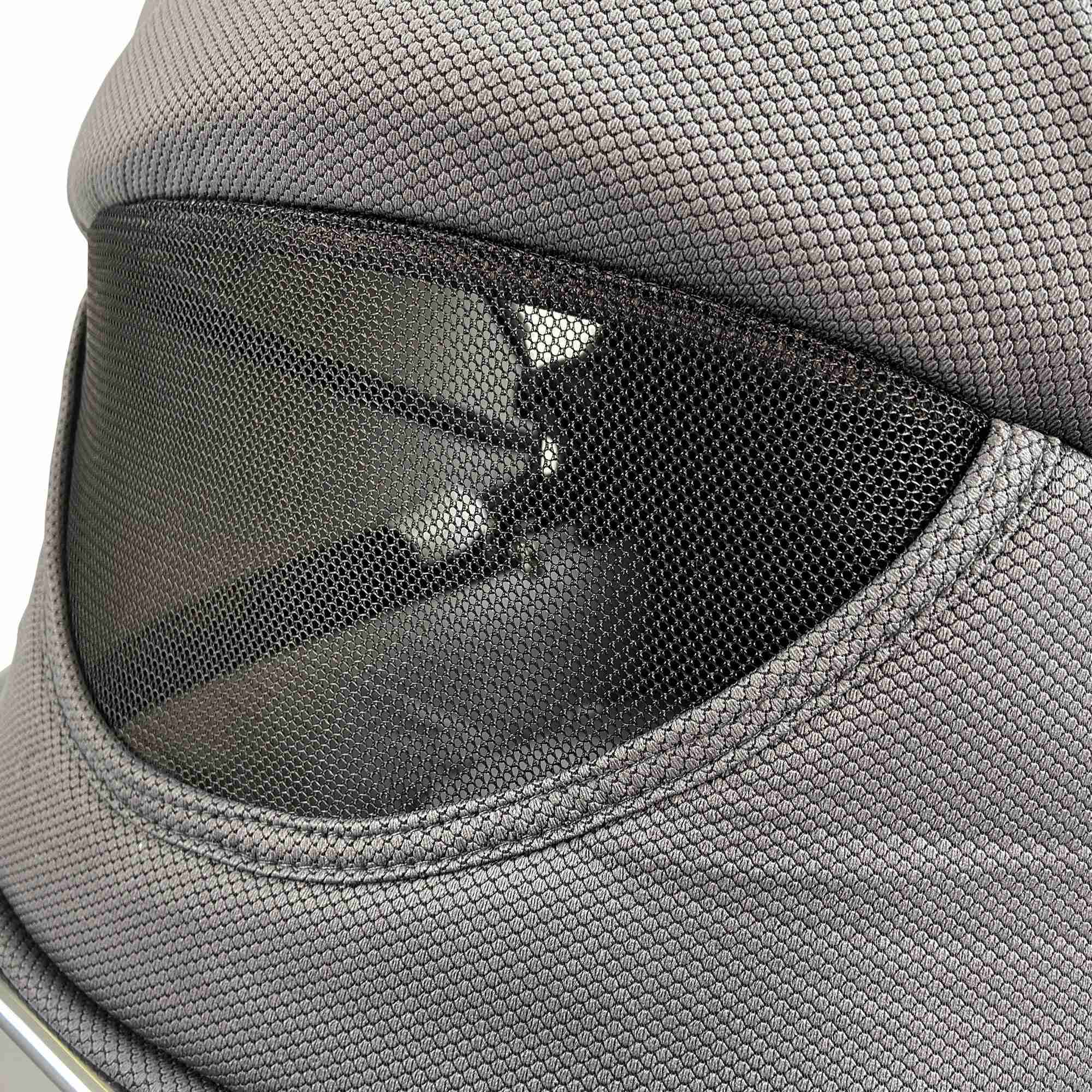 Air vent at the rear of the Venture Nebula Metro Grey Carry Cot