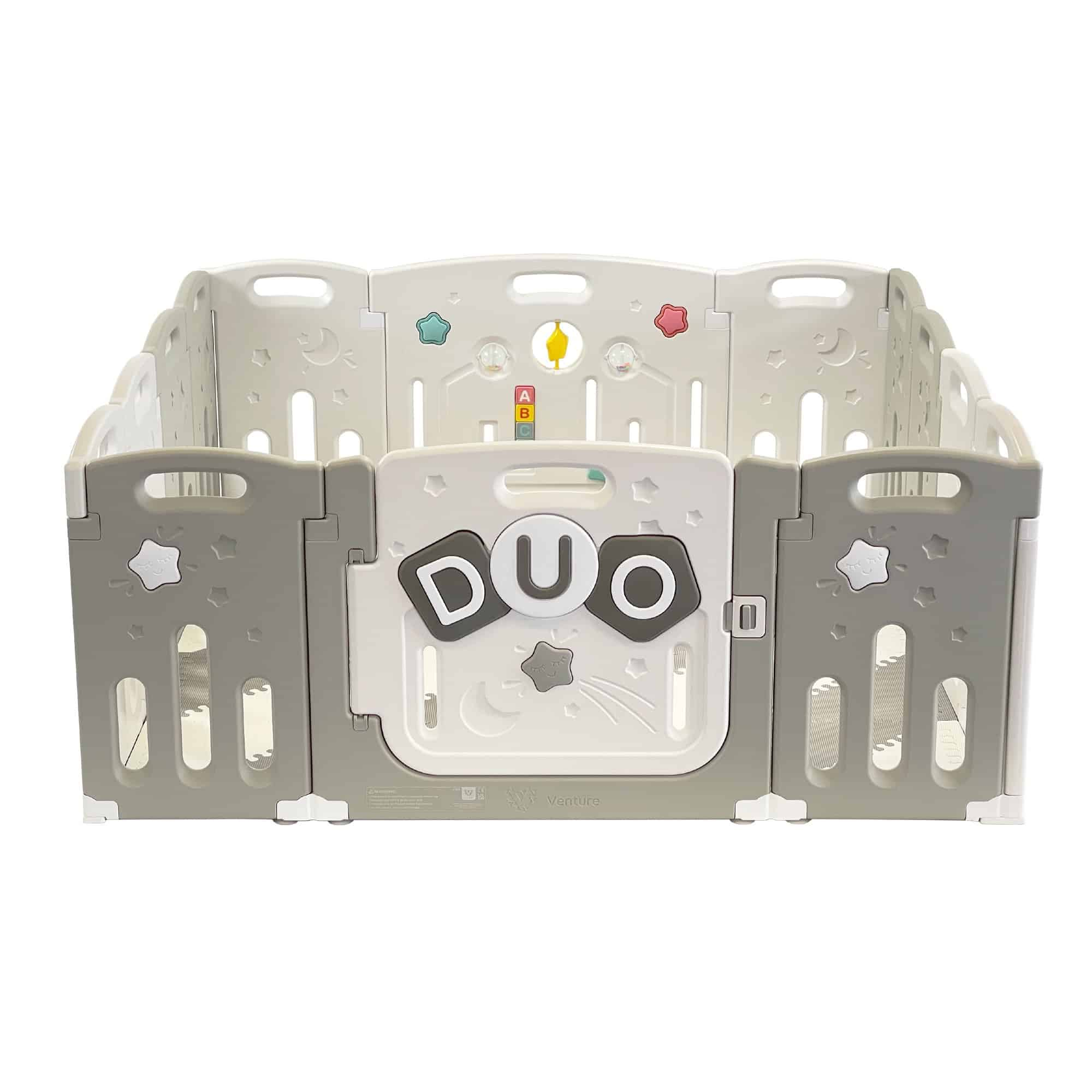 An overview of the All Stars DUO Playpen by Venture