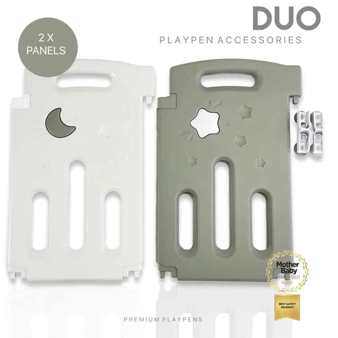 Extra Grey Panels For Grey All Stars DUO Playpen