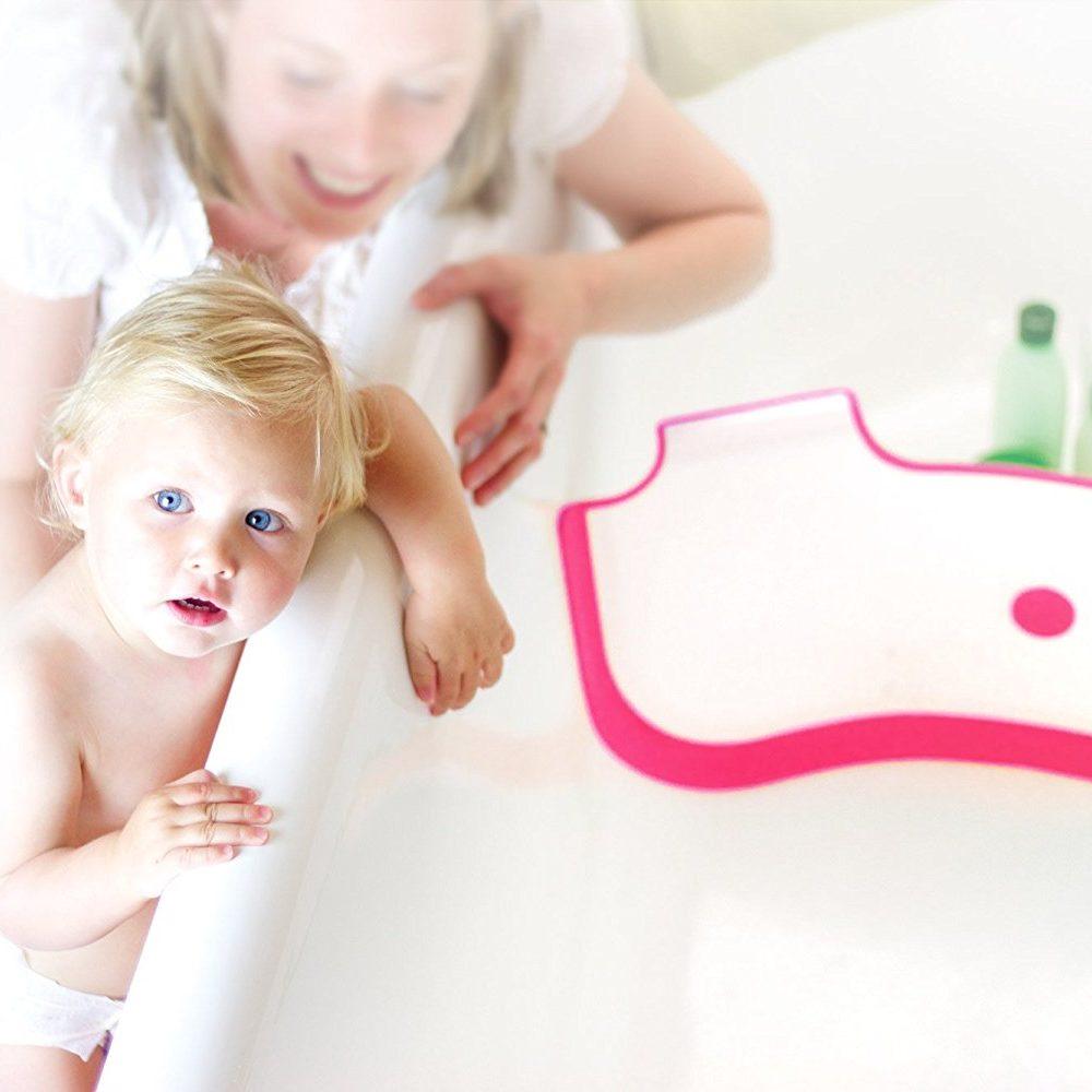 BabyDams bathwater barrier makes bath time that little bit easier.