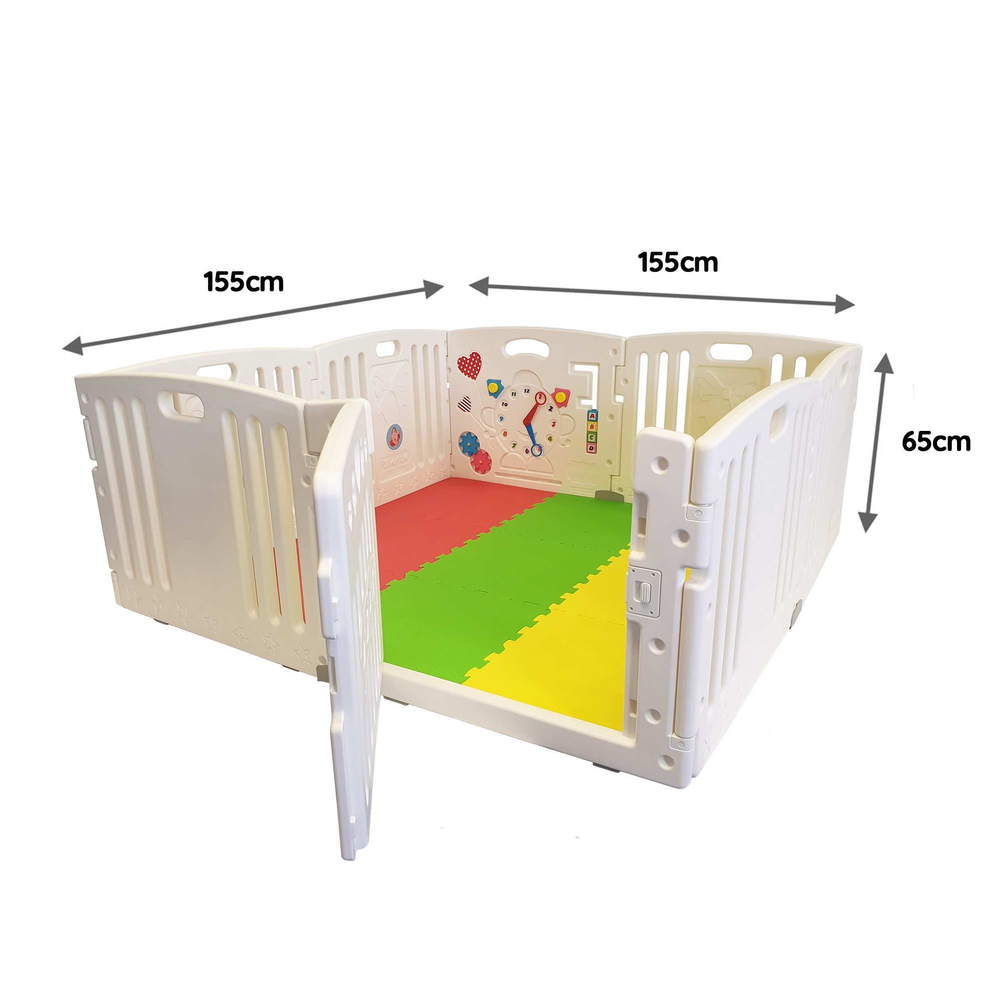 Venture All Stars baby playpen dimensions
