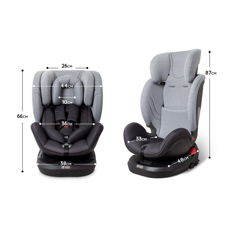 Fusion Car Seat Dimensions