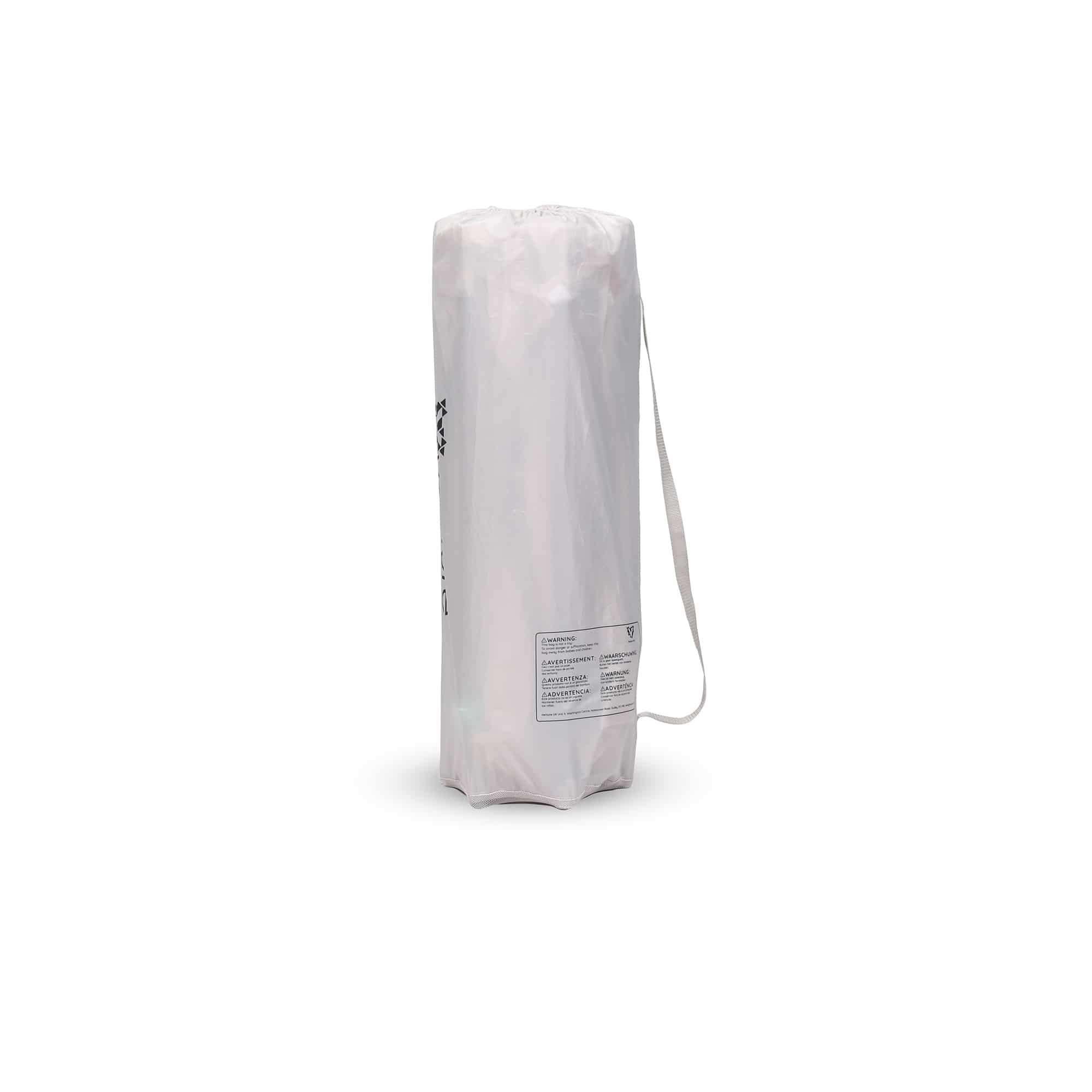 The bag features a handy carry strap making it great for use on the move.
