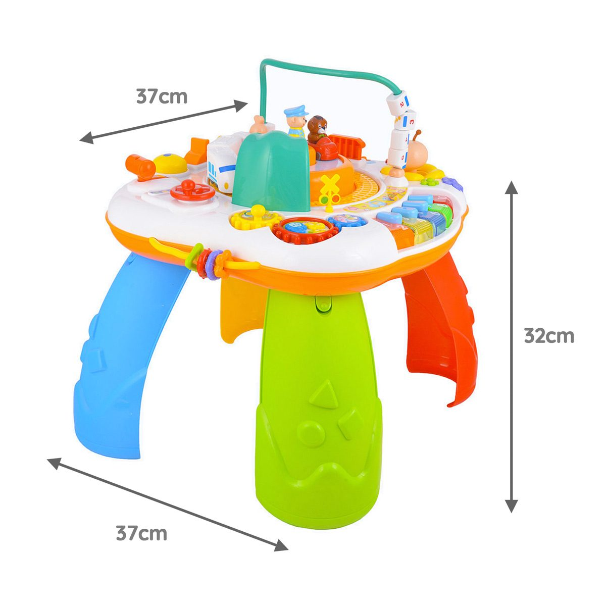 Mini Me & Friends Activity Table Dimensions