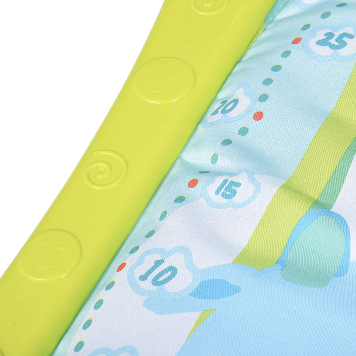 colourful design activity play mat