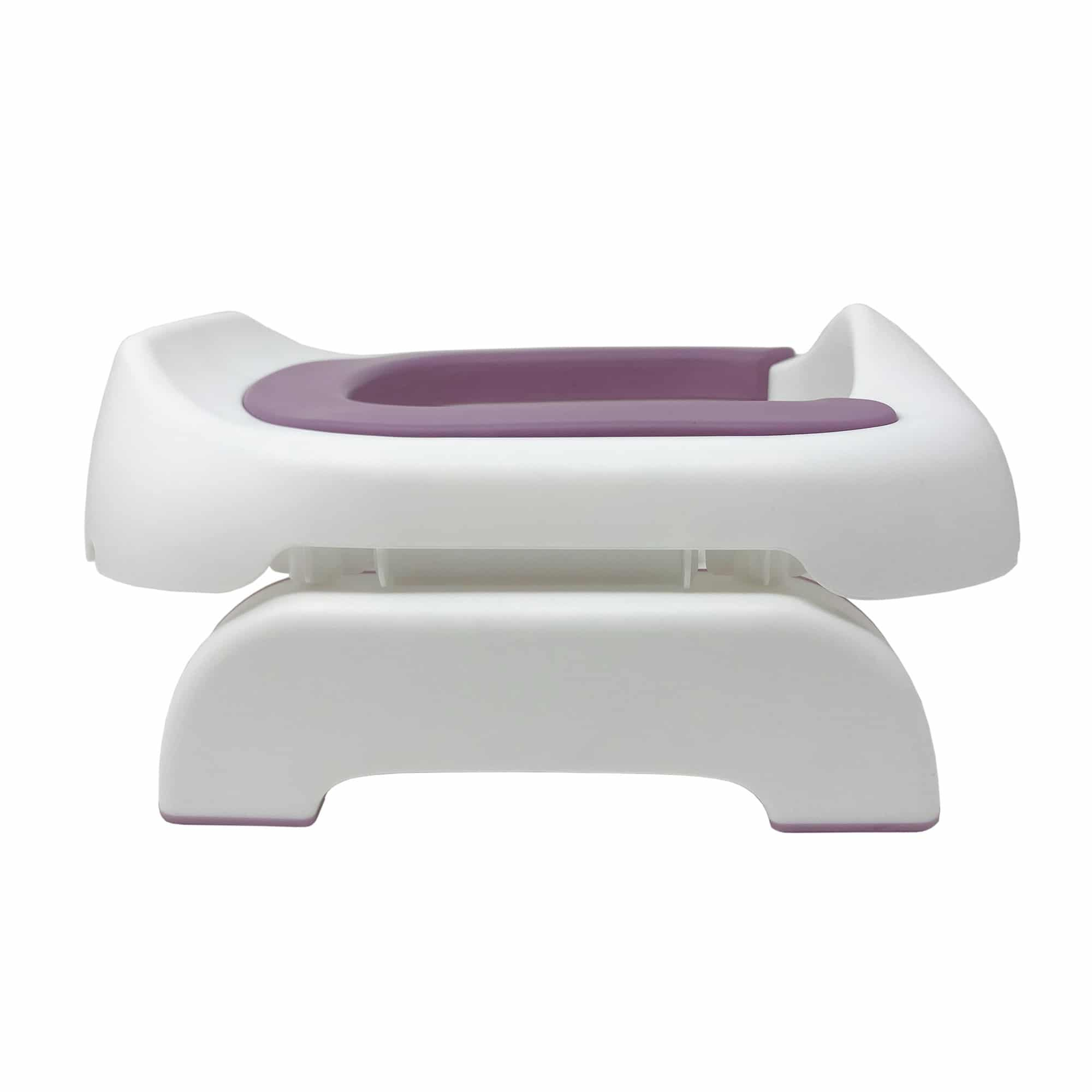 Venture Pote Plus travel potty shot of side in pink