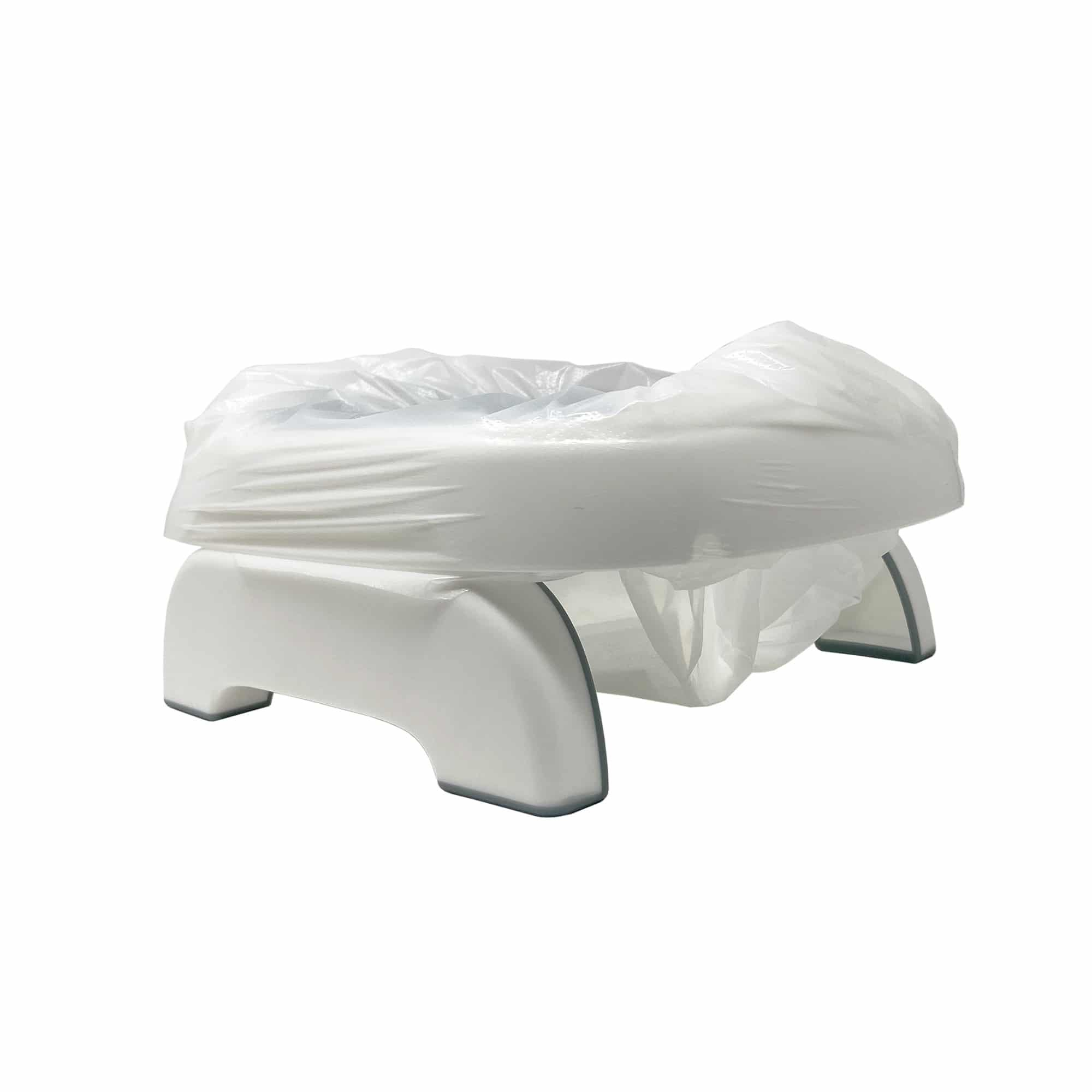 Pote Plus travel potty with liner inserted