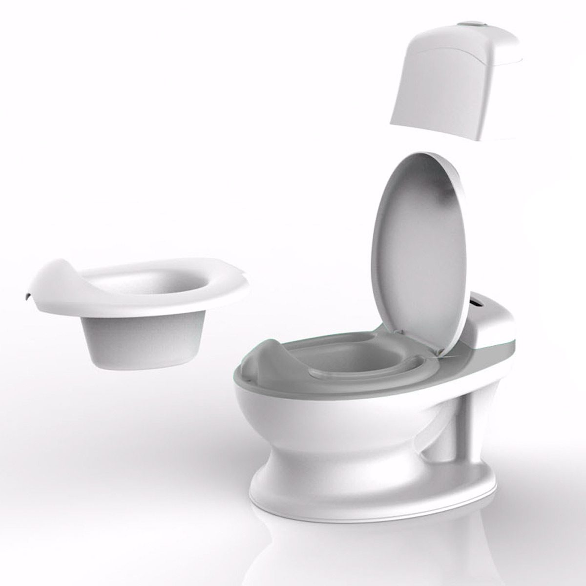 The Pote Plus is a hassle free easy to clean potty