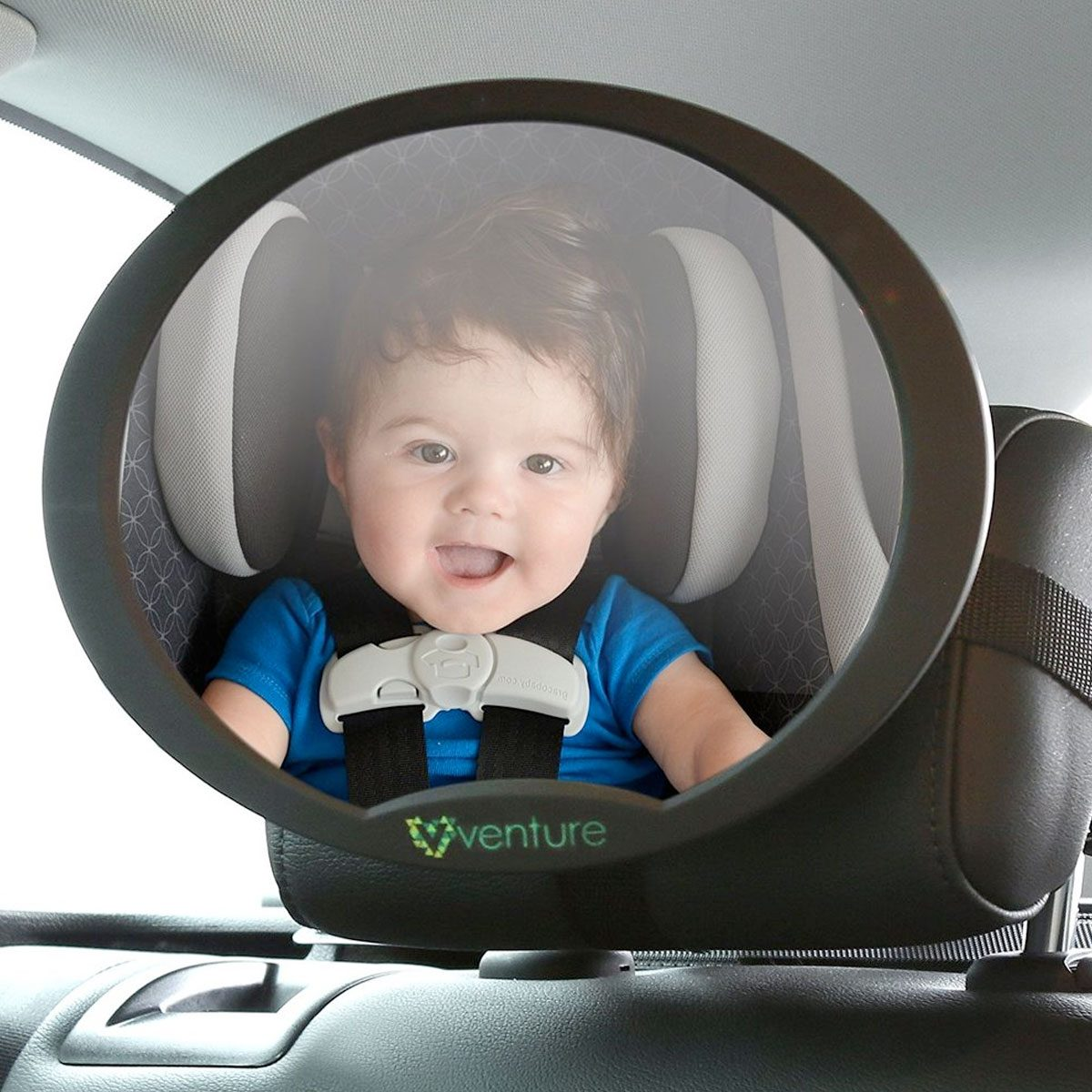 The Venture Acti-Vue gives you a great view of your child whislt driving