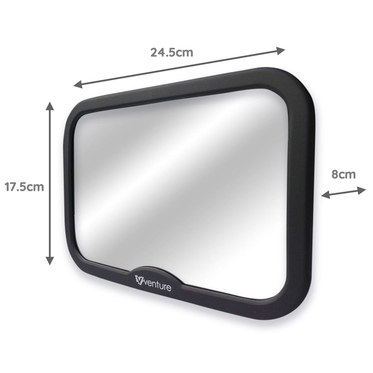 Venture Acti-Vue Car mirror dimensions