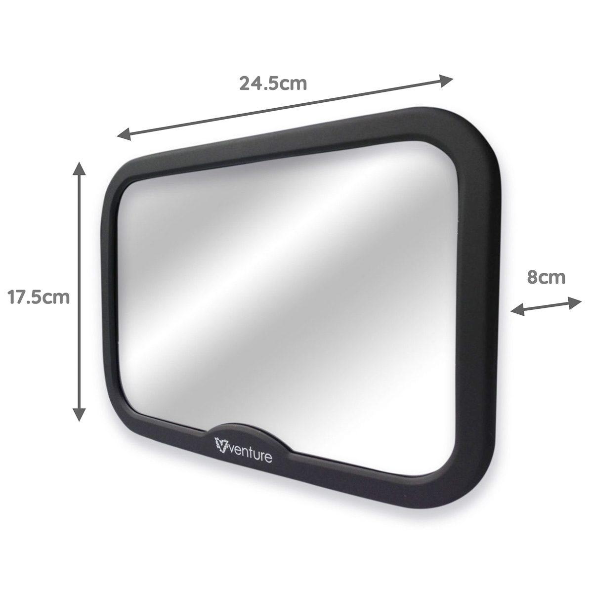Venture Acti-Vue Car mirror dimensions