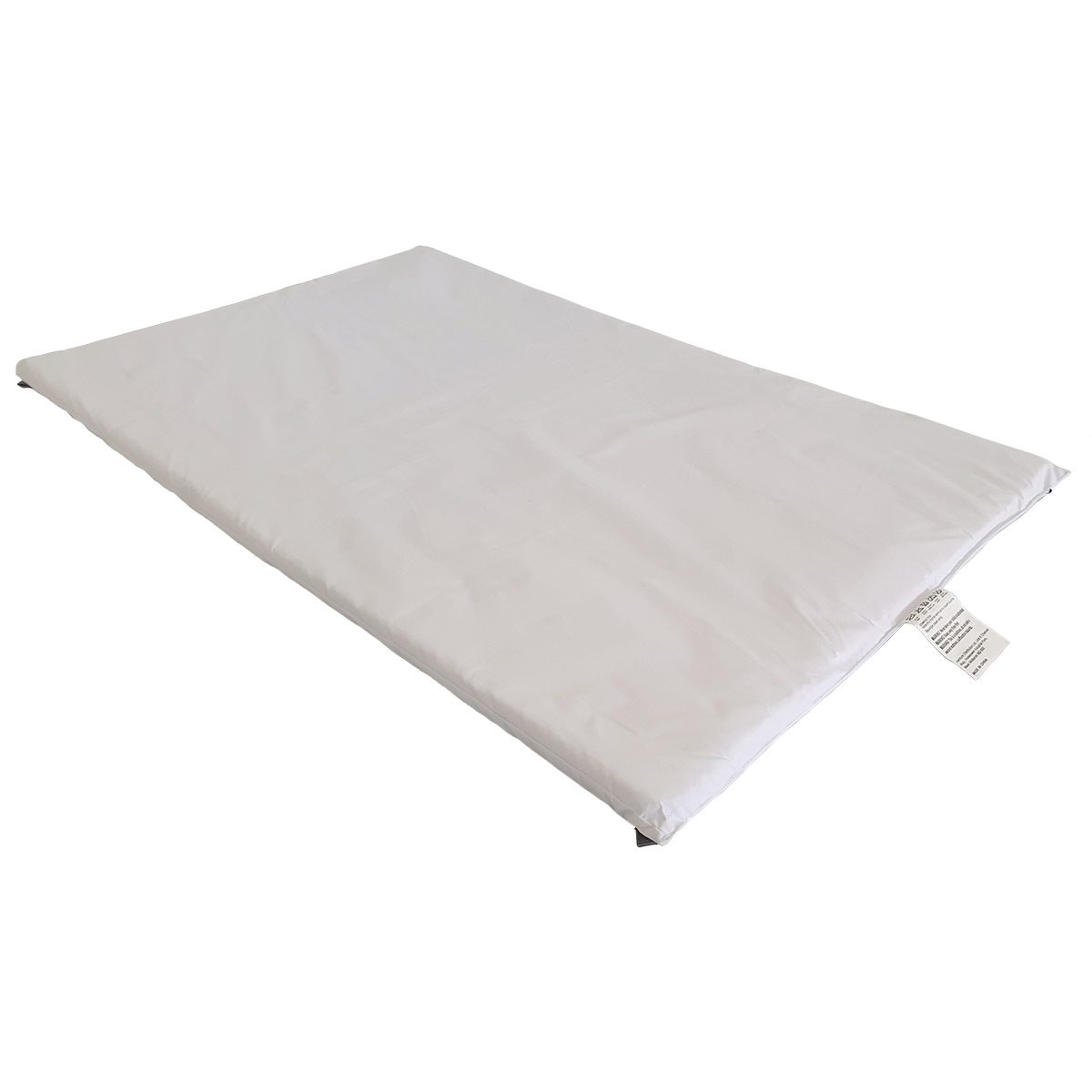 The mattress included with the Venture Roma travel cot