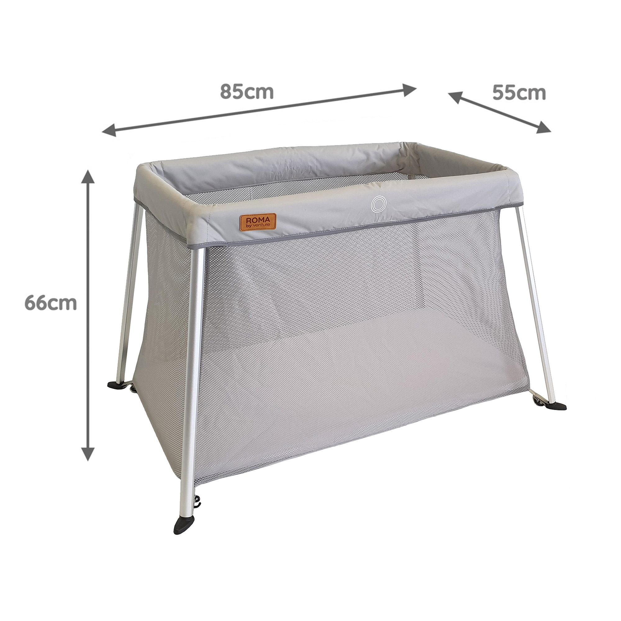 Venture Roma travel cot dimensions