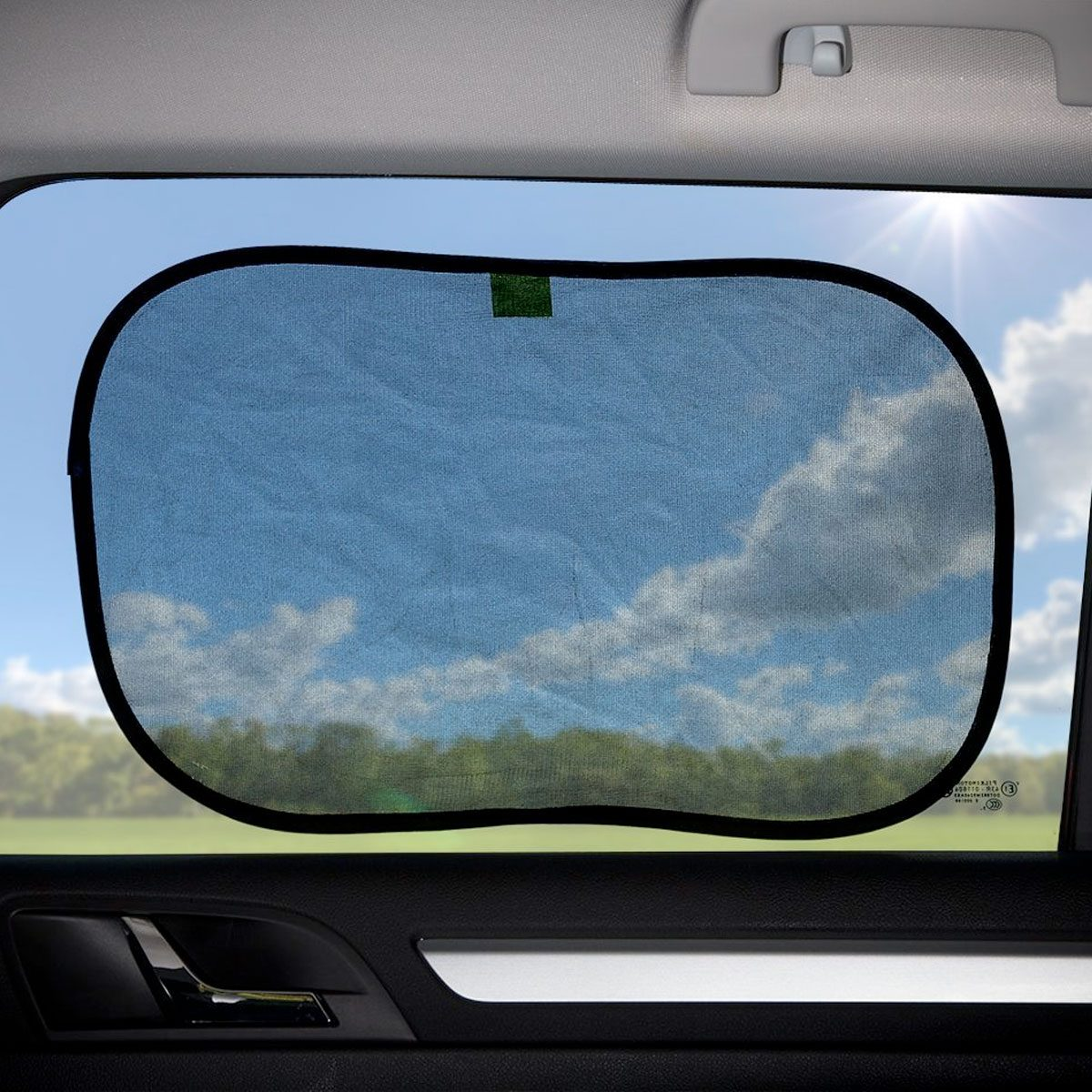 Venture Universal Static Cling car sunshade