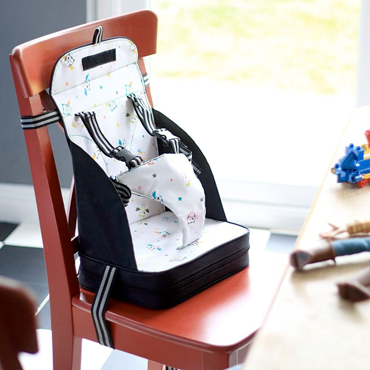 Perfect for mealtimes the Venture Table Booster Seat