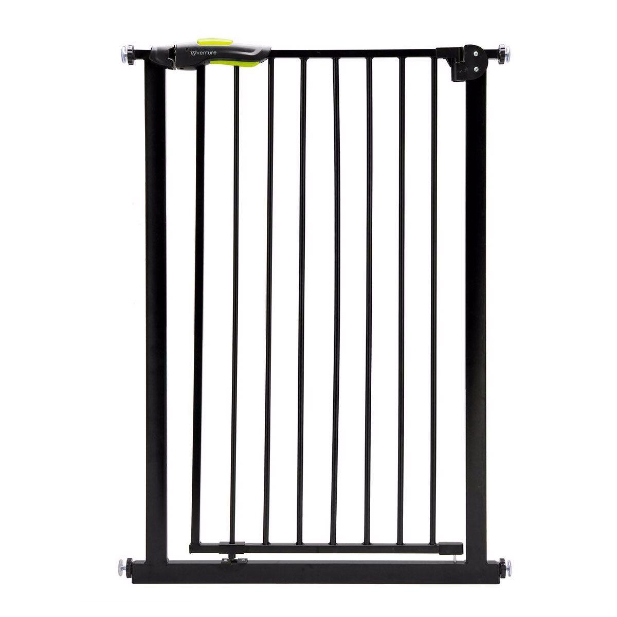 Venture Q-Fix Black Safety Gate