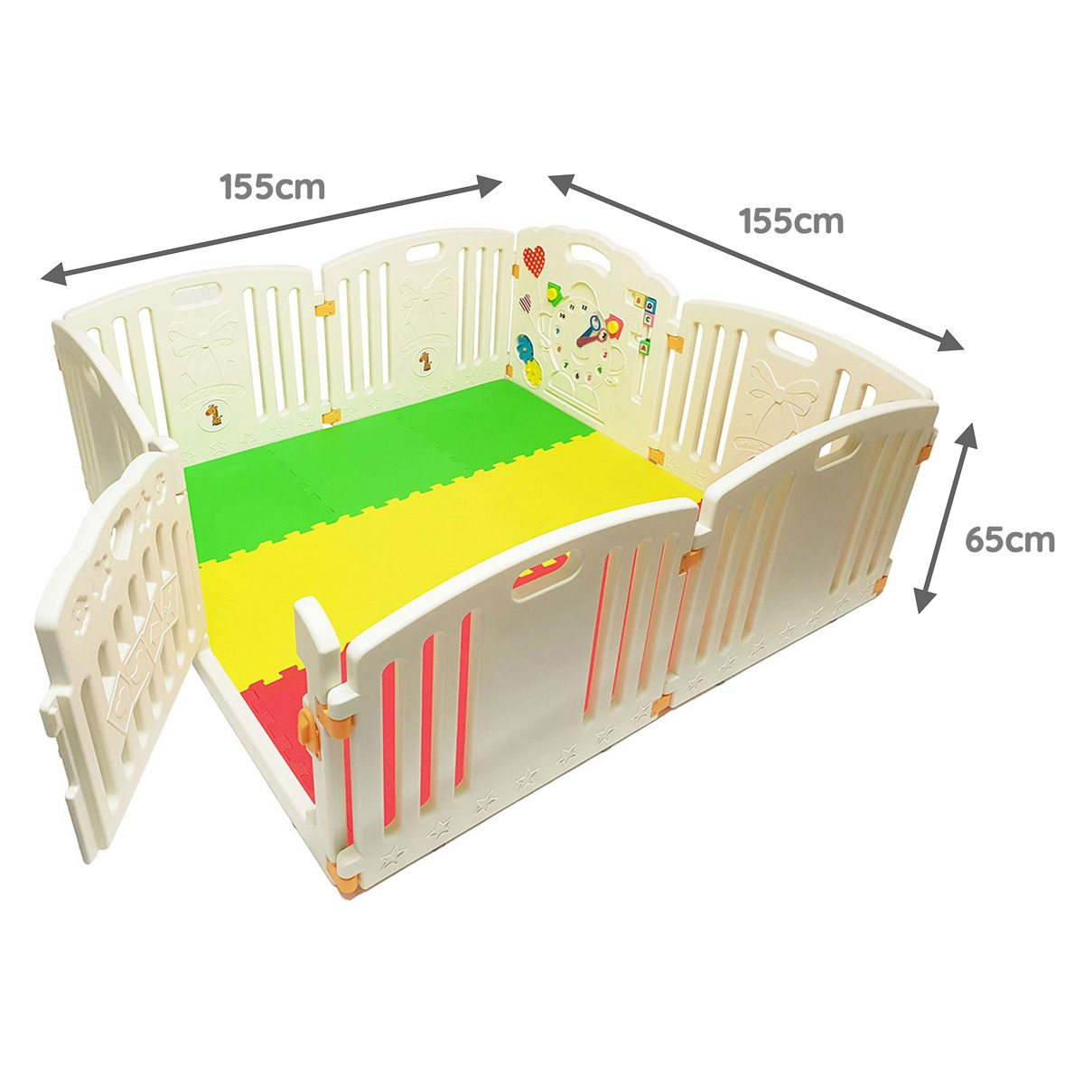 Venture All Stars Playpen Dimensions